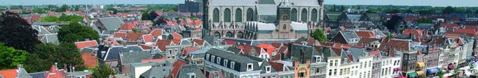 Kerk in het hart van Leiden